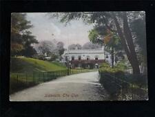 OLD POSTCARD OF SIDMOUTH, THE GLEN - USED 1910