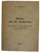 Rare Treatise -  RHODES AND THE DODECANESE ISLES - Irrefutable Greek Heritage