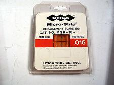 MICRO-STRIP MSR-16  Micro-Strip Blade Set, .016   NEW