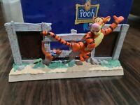 Vintage Disney Michel & Co Tigger Classic Winnie The Pooh Photo DOUBLE 2 Frame