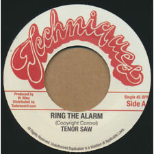 "Tenor Saw ‎- Ring The Alarm 7"" Vinyl LP - STALAG Sister Nancy Bam Bam - CLASSIC"