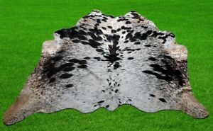 """100% New Cowhide Rugs Area Cow Skin Leather (40"""" x 40"""") Cow hide SA-277"""