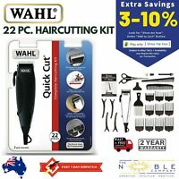 Wahl Hair Clippers Electric Mens Professional Haircut Trimmer Boys Grooming Kit