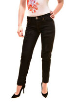 One Teaspoon Women's Bag Straight Jeans Black Size 30 RRP $158 BCF85