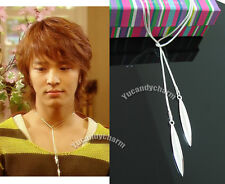 Korean TV Princess Hours Palace Prince Yool Silver needle Necklace made in Korea
