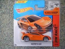 Hot Wheels 2014 #160/250 Mastretta MXR Naranja Lote M NUEVO FUNDICIÓN 2014