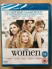 Meg Ryan Carrie Fisher Eva Mendes THE WOMEN ~ 2008 Ensemble Drama UK Blu-ray