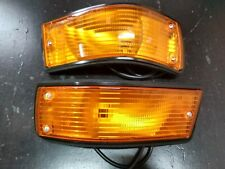 BMW E28 turn signal lights complete Euro !!NEW! OEM 63131373297 63131373298