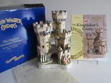 David Winter Kingmaker'S Castle Limited Edition 3398 1994 Coa, Proclamation