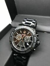 Movado 2600119 SERIES 800 Mens Black Chronograph Watch