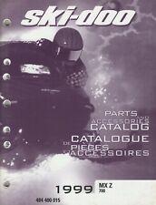 1999 Ski-Doo Snowmobile Mx Z 700 Parts & Accessories Manual 484 400 015 (277)