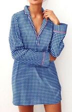 Victorias Secret New Mayfair So Soft MODAL Sleepshirt Night Gown Pajamas NWT M