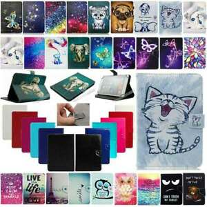 US For Amazon Kindle Fire HD 7 8 10 Tablet Universal Printing Leather Case Cover