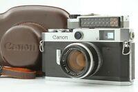 *N Mint* Canon P 35mm Film Rangefinder w/ 50mm f1.8 L39 Lens Light Meter JAPAN