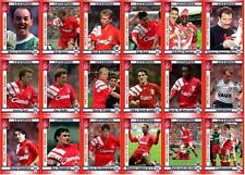 Liverpool FC 1992 FA Cup winners football trading cards