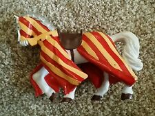 Papo Horse For king or knight red yellow 2000