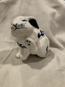 dedham pottery bunny rabbit figurine