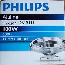 Philips Aluline Halogen 12V R111 100W NEU OVP