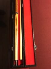 Action 3 piece jump cue with phenolic tip in case