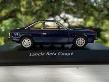 LANCIA Beta Coupe Baujahr 1980 DUNKELBLAU 1 43 Minichamps