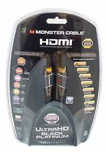 Monster Cable Black Platinum Ultimate High Speed 16 Ft - 27 Gbps - 2K - 4K 2160p