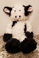 "Pier 1 One Imports Black & White Cow Plush Gertrude 20"""
