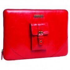 Custodie e copritastiera rosso in pelle Universale per tablet ed eBook