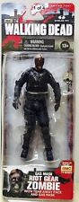 WALKING DEAD TV SERIES 4 GAS MASK RIOT GEAR ZOMBIE ACTION FIGURE McFARLANE AMC