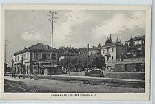 CARTOLINA ALBIZZATE STAZIONE FS 203/A