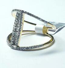 Geo Collection Split Shank Diamond Ring