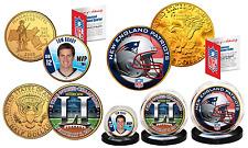 SUPER BOWL 51 NFL CHAMPIONS New England Patriots 3-Coin U.S. Set TOM BRADY MVP