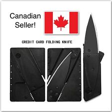 Sharp Credit Card Knife Outdoor Emergency Wallet Folding Pocket Knife!