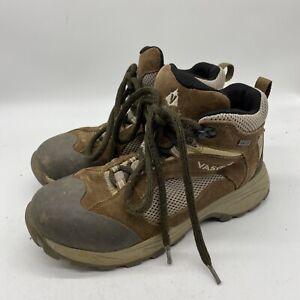 Vasque Women's Hiking Boots Range GTX Size 8 Style 7215 Gortex Pale Khaki Color