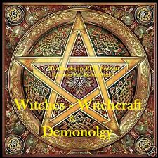 CD Witches, Witchcraft & Demonology  - 20 eBooks (Resell Rights)