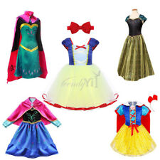 Christmas Girls Kid Princess Tutu Dress Up Party Fancy Costumes+Headband Cosplay