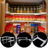 2Tier Spice Rack Shelf Holder Herb Jar Storage Stackable Stand Kitchen Organizer