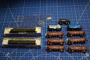 N Diesellok Life Like 7348 E6A & B Locomotive Baltimore & Ohio + 9 tlg. Wagenset