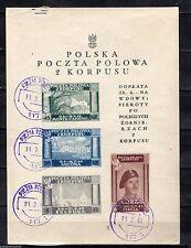Handstamped Italian Stamps