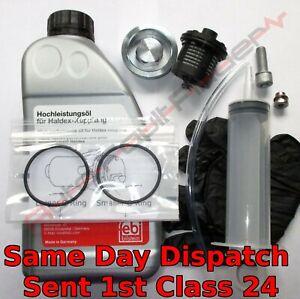 Gen 2 Haldex Service Kit Audi A3 S3 TT TTS 4Motion Oil Filter Fill Drain Plug 8P