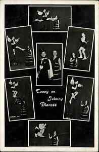 Circus Sideshow Tonny Johnny Blanzee Draad Tightrope Real Photo Postcard