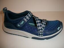 RYKA Kailee Adjustable Mesh Mary Jane Sneakers Navy 6.5 Medium NIB
