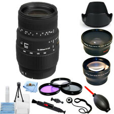 Sigma 70-300mm f/4-5.6 DG Macro Lens for Canon EOS!! STARTER BUNDLE BRAND NEW!!