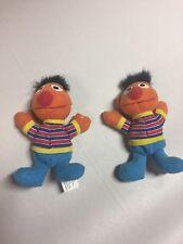 2 Sesame Street Ernie With Long Hair Plush Stuffed Toy Doll Kellogg's