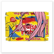 New Look Same Fish by Ben Frost   S/N Ed of 25