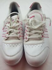 ADIDAS Women's White & Pink GOLF SHOES EVG 791003  size 10