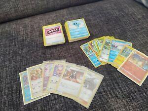 50 Pokemon + 3 Reverse  + 1 Holo Karten Sammlung Boosterfrisch#110