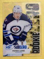 2016-17 Upper Deck Ice Subzero Rookie #SZ-63 Patrik Laine Winnipeg Acetate SP RC