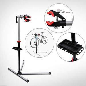 HOMCOM Bicycle Bike Maintenance Repair Stand Mechanic Adjustable Workstand Rack