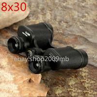 8X30 HD Wide-angle Central Zoom Military Telescope Prism 8.5 Degrees Russian