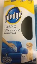 Pledge Pet Hair Fabric Sweeper Roller Remover Packaging has be open See Images
